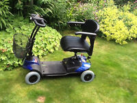 Mobility scooter (inInverness) .As new. hardly used. Easy to use and handle and put in car