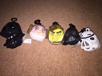 Angry birds Star Wars plush