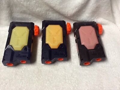 Lot Of 3 Nerf Super Soaker Water Clip Refill Replacement Parts