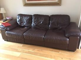 3 seat sofa and arm chair