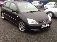 2004 HONDA CIVIC 1.6cc SE EXCELLENT CONDITION---ONE YEAR MOT---FULL SERVICE HISTORY