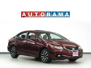 2015 Honda Civic TOURING NAVIGATION LEATHER SUNROOF BACK UP CAM