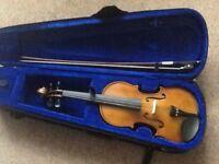 Full size violin & Team Strings book & cd