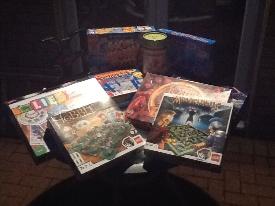 Collection of board games for sale