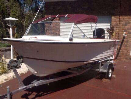 Cruise craft 14ft runabout Kingston Kingborough Area Preview