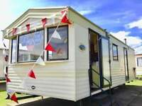 cheap static caravan for sale not touring, sited in Essex, 2018 site fees included