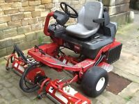Toro GM3200 Ride On triple cylinder Mower