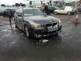 BMW 535D MSPORT ESTATE BLACK TOP SPEC RARE