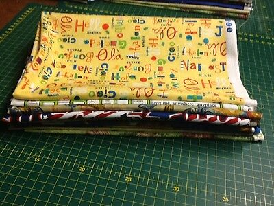 Fat Quarter Mystery Print Pack Sewing Cotton Quilting Fabric gebraucht kaufen  Versand nach Germany