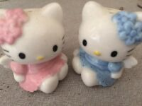 Hello Kitty salt and pepper shakers- collectibles