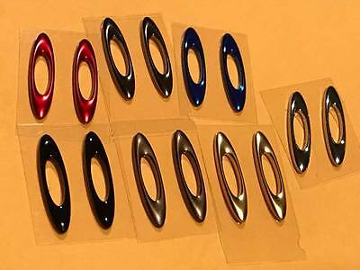 custom your Oakley SCALPEL with authentic Oakley icon replacement Set (Oakley Scalpel)