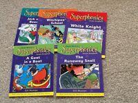 Superphonics book set, 5 x Purple, 3rd level