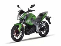 Kymco CK1 125cc learner legal motorbike, good looking, ideal commuter, 2 years warranty included