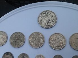 1700 upwards 51 British silver and Copper coins