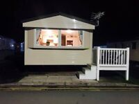 3 bed 8 berth caravan to let in Trecco Bay porthcawl located by the showdome
