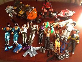 action men figures and accesories