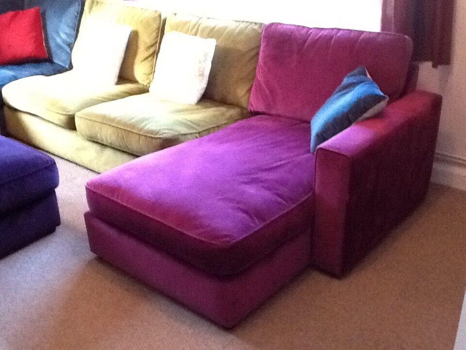 Furniture Village Guildford furniture village harlequin corner sofa in excellent condition