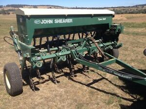 Seed drill Woodend Macedon Ranges Preview
