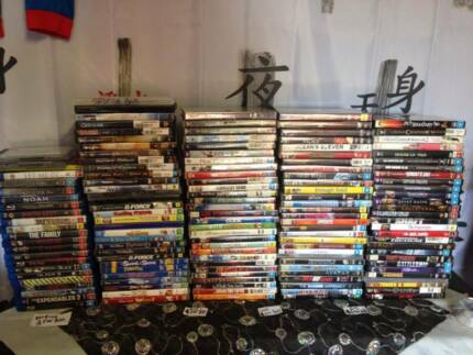 DVDS mixed lot of over 100 dvds  $130 BLURAYS $100 Broadmeadows Hume Area Preview