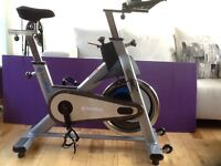 Indoor spin bike . Good quality commercial spec