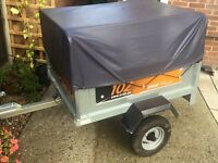 Erde classic tipping trailer + extension kit