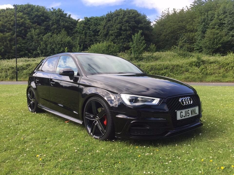 2015 15 Audi S3 Black Edition Replica 2 0 Tdi Rs3 Grill