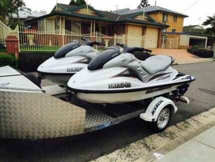2002 Yamaha Wave Runner GP1200R WITH DOUBLE TRAILOR Rutherford Maitland Area Preview