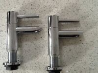 Reduced set modern taps and push button plug