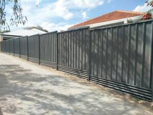 Colorbond Fence and Gate Installation