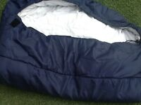 Sleeping bag.