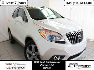 2014 BUICK ENCORE FWD, LEATHER, CAMERA DE RECU, BLUTOOTH