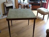 Fantastic condition folding card table