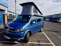 Volkswagen Transporter T6 2016 Highline Campervan, SWB T32, EURO 6, 2.0ltr TDI Blue-motion.
