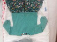 Pretty winter dress 3-6 mths