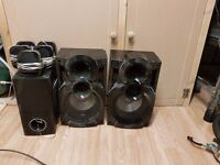 3 sets of speakers