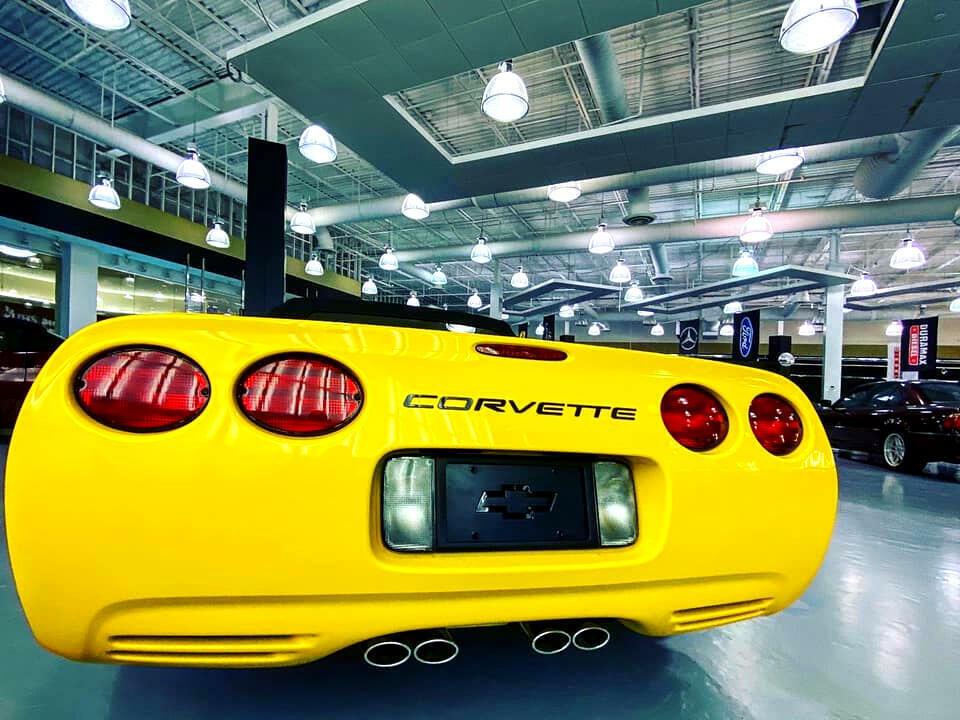 2002 Yellow Chevrolet Corvette Convertible    C5 Corvette Photo 7