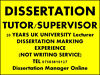 DISSERTATION TUTOR,  HELP AND PROOFREADING Stratford, London