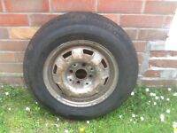 Mk 1 golf wheel and tyre