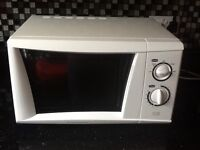White 'Cookworks' Microwave