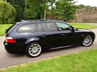 BMW 520d M Sport Touring. Very well looked after. Nice example of this high spec luxury vehicle