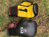M.A.R Boxing Gloves Kickboxing Thai Boxing Mma Muay Thai Gloves