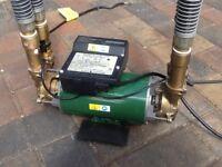 Stuart Turner Monsoon shower pump 3.0 bar twin
