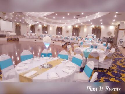 Party and wedding decorations hire