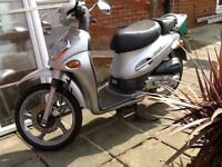 Kymco 50cc 2 stroke scooter