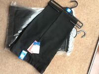 Marks n spencer boys black school trousers age 13/14 new