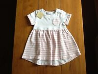 Brand new Next baby girls dress, 3-6m (with tags).