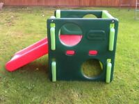 Little Tikes cube slide