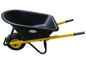 BRAND NEW 100L POLY TRAY WHEELBARROW WITH NO FLAT WHEEL Thornlands Redland Area Preview
