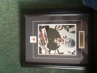 Wayne Gretzky framed picture