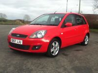 *!*LOW MILES*!* 2008 Ford Fiesta 1.25 Zetec Climate **MOT'd 3rd JANUARY 2018** **PERFECT FIRST CAR**